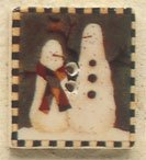 43101 - Snowbuddies Square Stamp - 1in x 1in